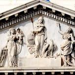 American Goddess Libertas (sculptural pediment over US Capitol, Washington D.C.)