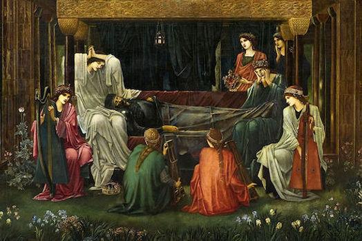 Last Sleep of Arthur (Burne-Jones).jpg