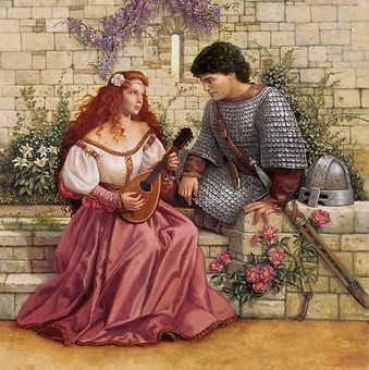 Guinevere and Lancelot (Sanderson).jpg