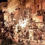 Carnival in Via del Corso (Marstrand 1848)