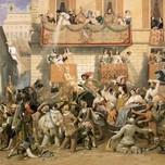 The Roman Carnival at Corso (Werner 1848)