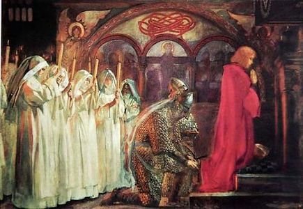 Quest of the Holy Grail - Sir Lancelot a