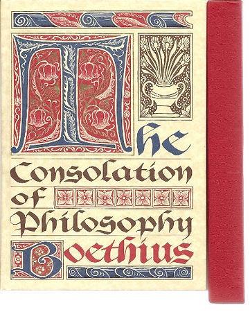 Consolation of Philosophy (Boethius 524)