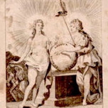 America exceptional as she awakens nude Europe (1790)