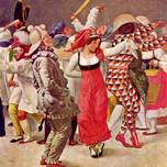 Carnival in Rome (Eckersberg (1828)