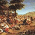 The Village Fete (Rubens c. 1635)