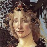 Flora (Primavera detail, Botticelli c.1482)