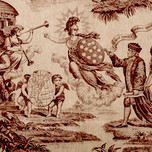 Minerva leads America in The Apotheosis of Benjamin Franklin and George Washington (1785-1800)