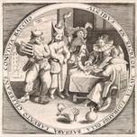 February Shrove Tuesday (Anonymous and Crispijn Van De Passe 16th c.)