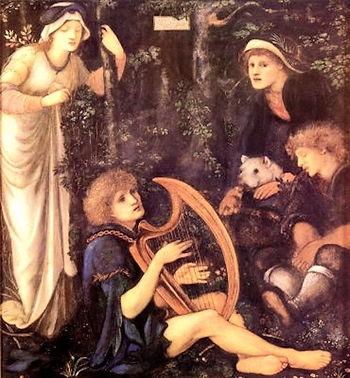 Madness of Sir Tristan (Burne-Jones).jpg