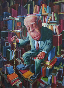 Borges in Library of Babel artwork.jpg