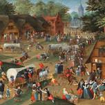 Flemish village Kermesse de la St Georges (Baltens 16th c.)
