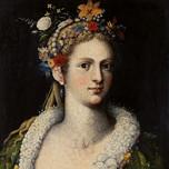Flora Meretrix, goddess of abundance, fertility and sensuality (Arcimboldo c.1590)