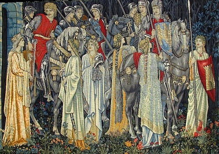 Quest for the Holy Grail tapestry (Burne