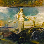 Minerva in a Chariot (Thayer 1929)
