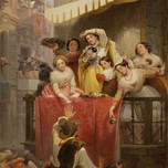 Carnival in Rome (Wider 1852)