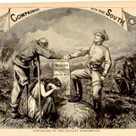 Compromise with the South (Nast, Harper's Weekly 1864)