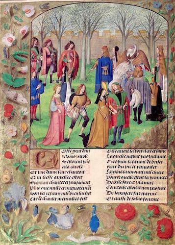 Dance Sir Mirth & Lady Gladness Roman pa