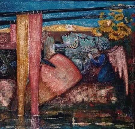 Knight & His Lady (Burne-Jones).jpg