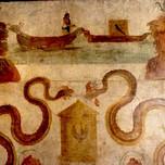 Isis ship fresco