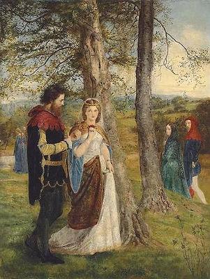 Sir Lancelot and Queen Guinevere (Archer