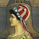Lady Liberty with liberty cap