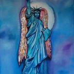 Statue of Liberty angel