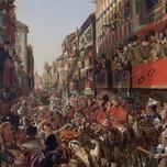 Carnival in Rome (Myasoedov 1839)