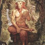 Pan (cf. Celtic Horned God of the woods)