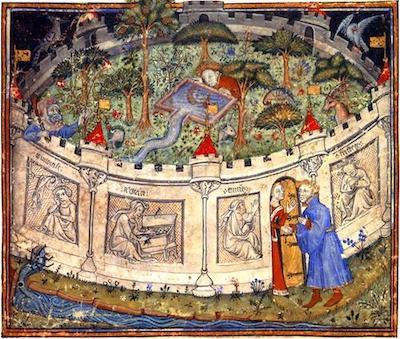 Garden of Pleasures (Roman de la Rose c.