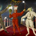 Schembart Carnival figures