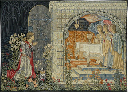 Vision of the Holy Grail tapestry 2 (Bur