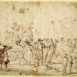 Carnival Scene With Masqueraders (de Wael 1640)