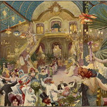 A Lavish Carnival In Nice, In The South (Mary Evans Picture Library 1904)