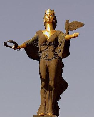 Statue of Sofia (Sofia, Bulgaria 2000)