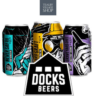 New - Docks Beer - at Tealby Village Shop