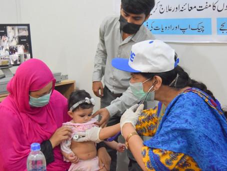 HOPE Treats 300 Patients in Medical Camp in Karachi