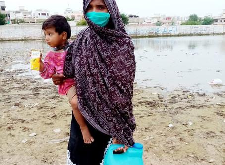 HOPE Begins Relief Work in Karachi after Floods