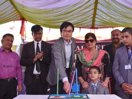 Japanese Embassy and HOPE come together for Muzaffargarh Middle School Inaugural Ceremony