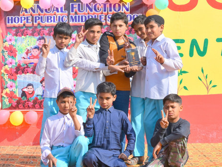 HOPE Constructs New Premise for Muzzafargarh Middle School