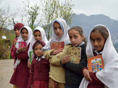 Your Donations at Work in Kashmir
