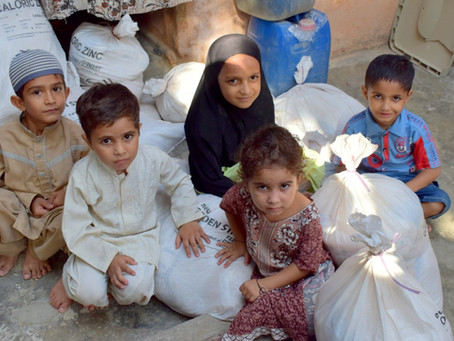 Your Zakat being used for Food Rations for the Needy