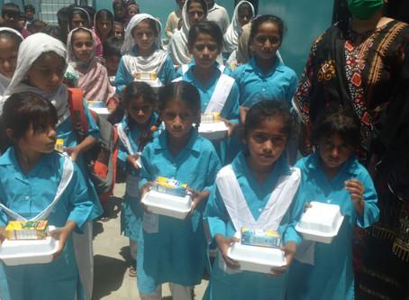 275 Iftars Distributed in HOPE Muzaffargarh Middle School