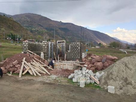 Kashmir MCHC Construction Under Way!