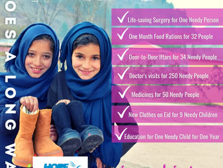 Your Zakat Goes Much Further in Pakistan!