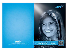Hope USA Pakistan Annual Report 2015