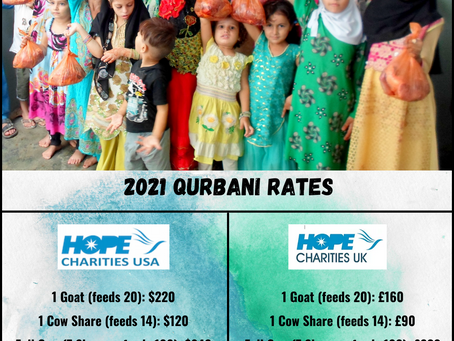 2021 Qurbani - Reserve Yours Today!