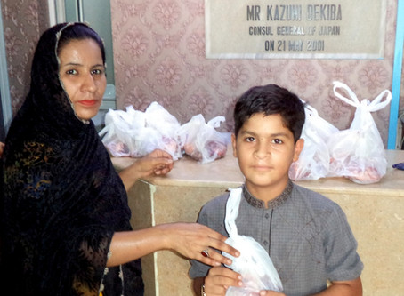 Qurbani 2020 - 11,000 Poor People Received Meat