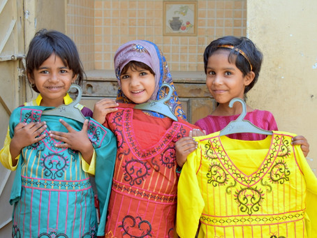 HOPE Launches Eid Clothes Distribution