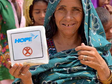 HOPE and HCI Distribute 400 Iftar Boxes in Ghaggar